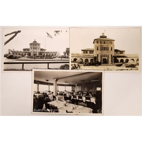 Union Air Terminal, Burbank, California - 3 Postcards  [137103]