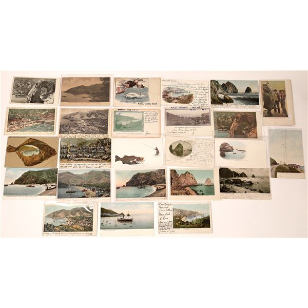Catalina Island Pioneer Post Card Collection (approx 25 pieces)  [137980]