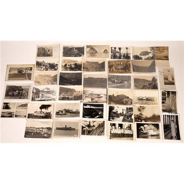 Catalina Island RPC Post Card Collection (37 pieces)  [137981]