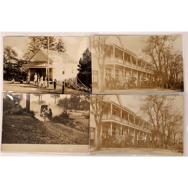 Forest Hill, California Postcards (4)  [136045]