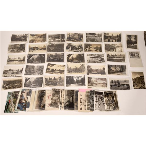 Postcards & RPC's From Idyllwild, California (50)  [137058]