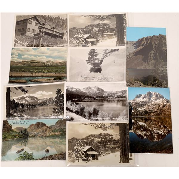 June Lake Area Postcard Collection (10)  [137858]