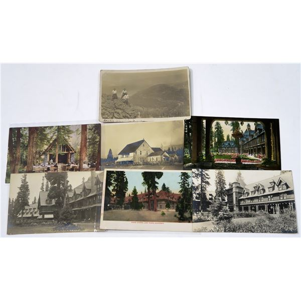 Tahoe Tavern & Other Tahoe Postcards & RPC's (7)  [137053]