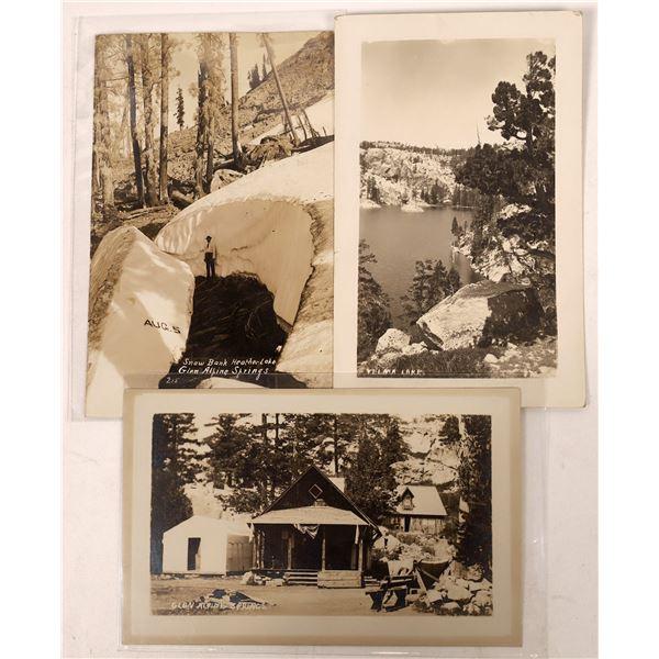 Tahoe Glen Alpine Postcard Trio  [137867]