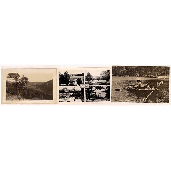 Echo Lake Postcard (3)  [137900]