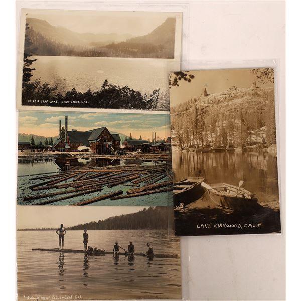 Tahoe Area and Surrounding Postcards (4)  [137901]