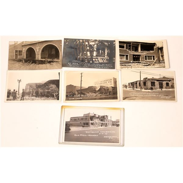 Long Beach Disasters Post Card Collection  [137970]