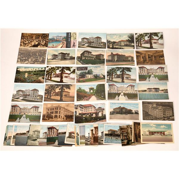 Long Beach Hotels Post Card Collection  [137969]