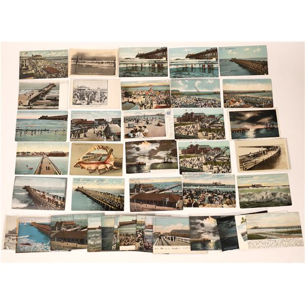 Long Beach Pier Scenes Post Card Collection  [137966]