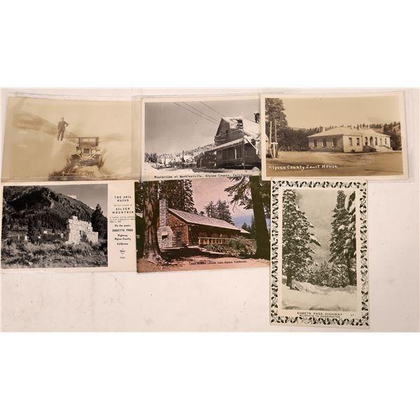 Markleeville Area Postcard Group (6)  [137863]