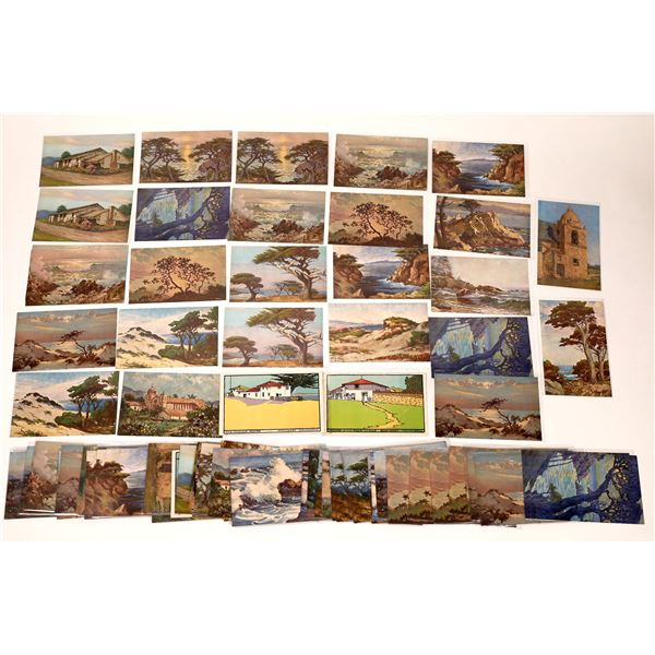 Painting Postcards of Monterey and Carmel  [137957]