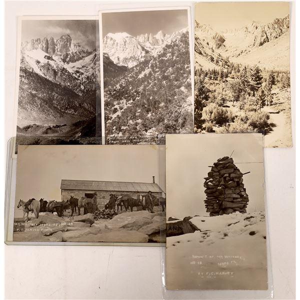 Mount Whitney Postcard Group (5)  [137862]