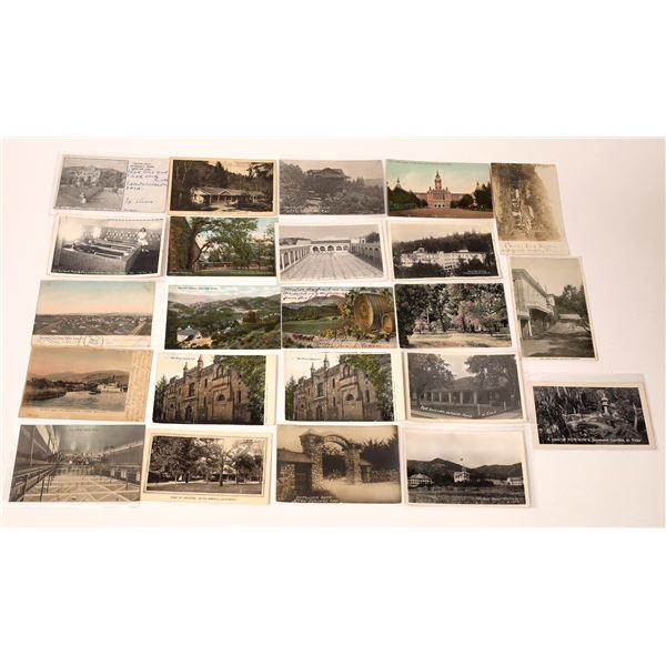 Napa Area Vintage Postcard Collection  [137959]