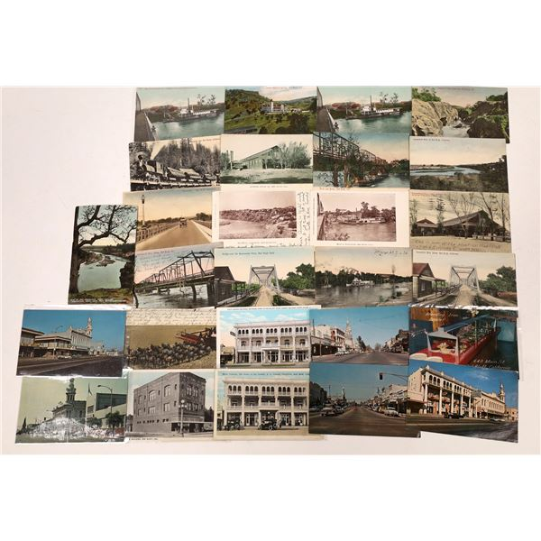 Red Bluff Vintage Postcard Collection  [137840]