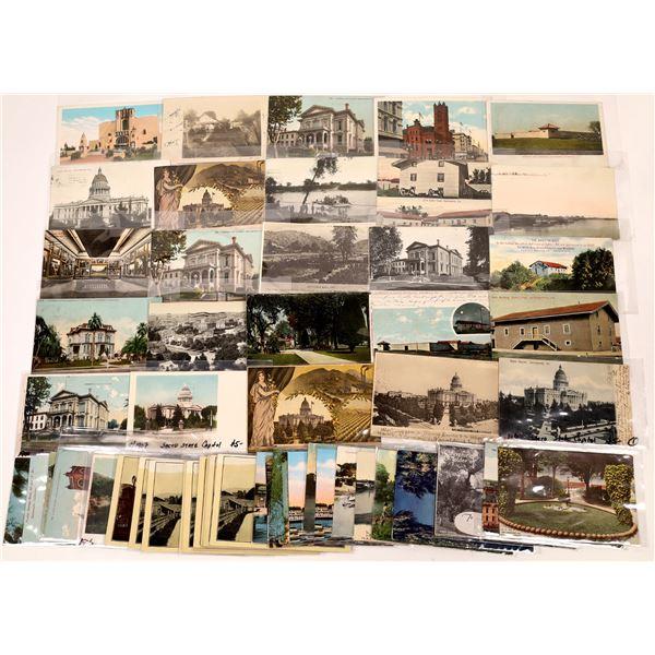 Sacramento & Niles, California Postcards (50)  [136060]