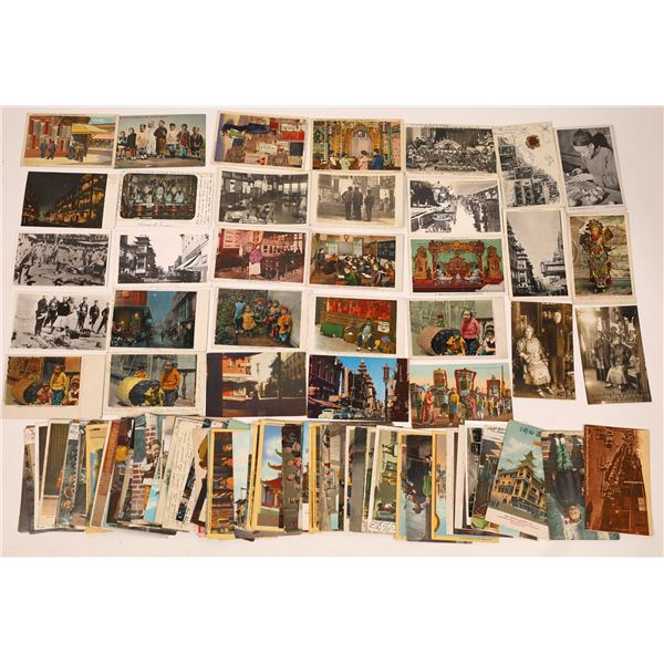 Chinese in San Francisco Major Post Card Collection  [138131]