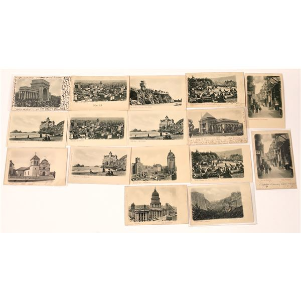 California Embossed Pioneer Postcard Collection  [138932]