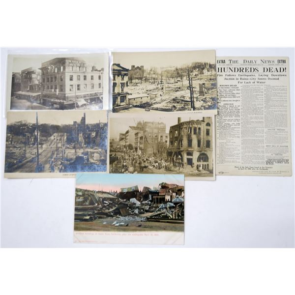 San Francisco 1906 Earthquake Postcards - 6  [137056]