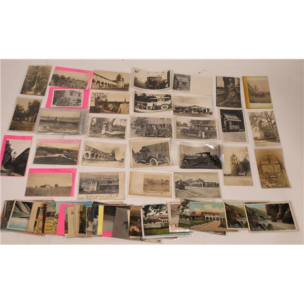 Santa Barbara Post Card Collection  [138132]