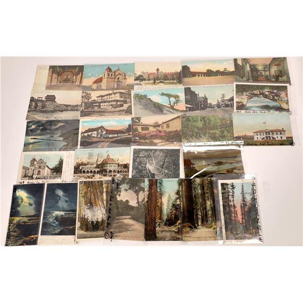 Central California Coastal Postcards (25)  [136043]
