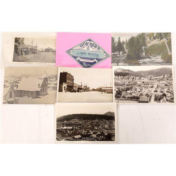 Truckee Postcards (7)  [137903]