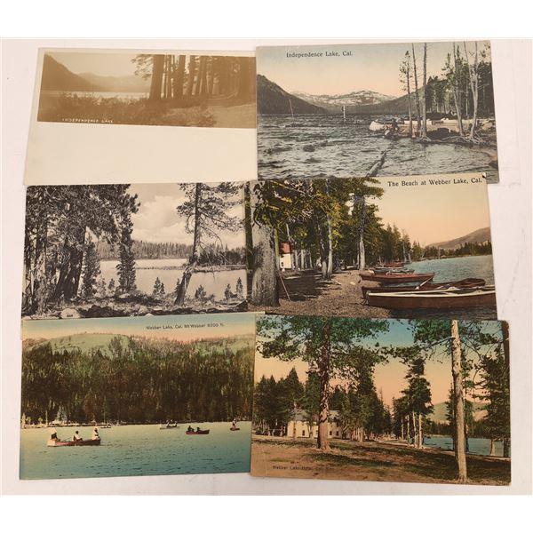 Webber Lake Area Postcard (6)  [137869]