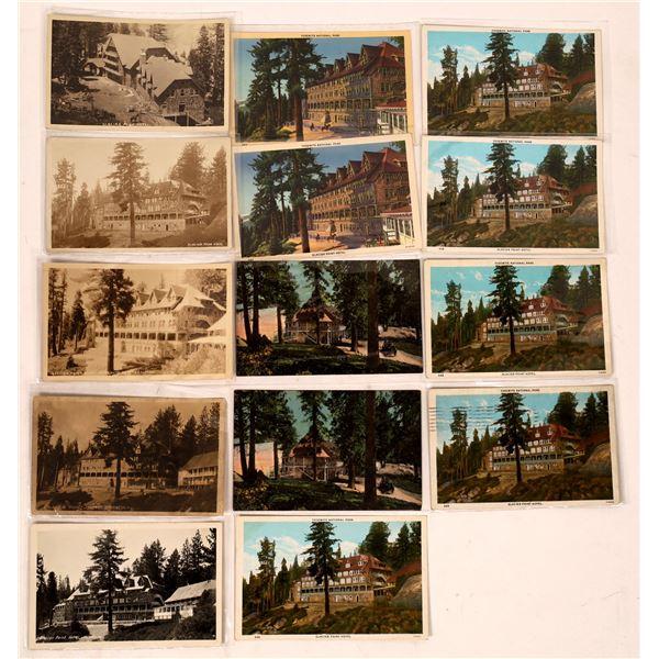 Glacier Point Hotel Postcards (14)  [138091]