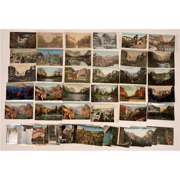 Grand View Yosemite Postcard Collection (80)  [137927]