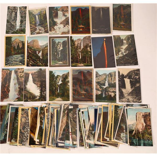 Yosemite Waterfall Postcard Collection (200)  [137926]