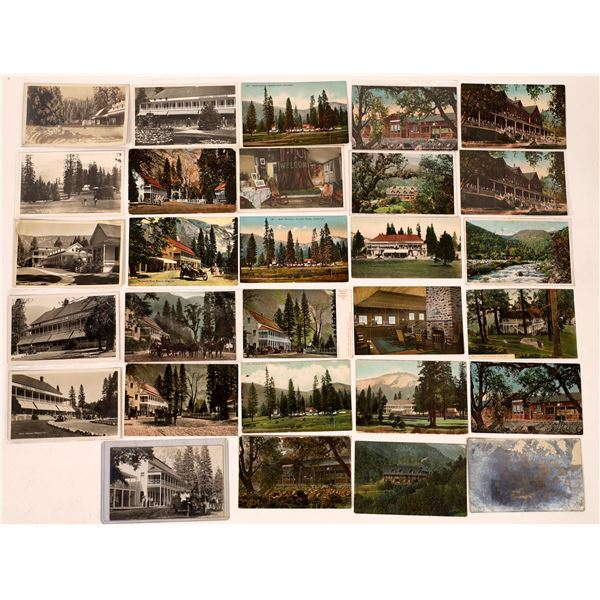 Yosemite Hotels Postcard Collection (29)  [138090]