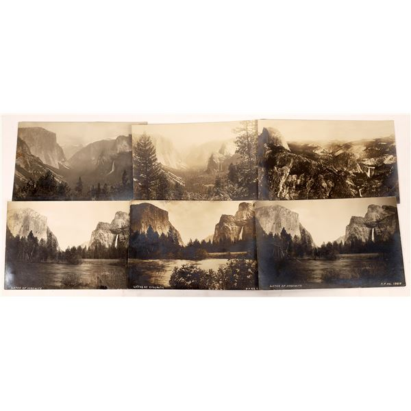 Yosemite - The Grand View Old RPC Postcard Collection (17)  [137479]