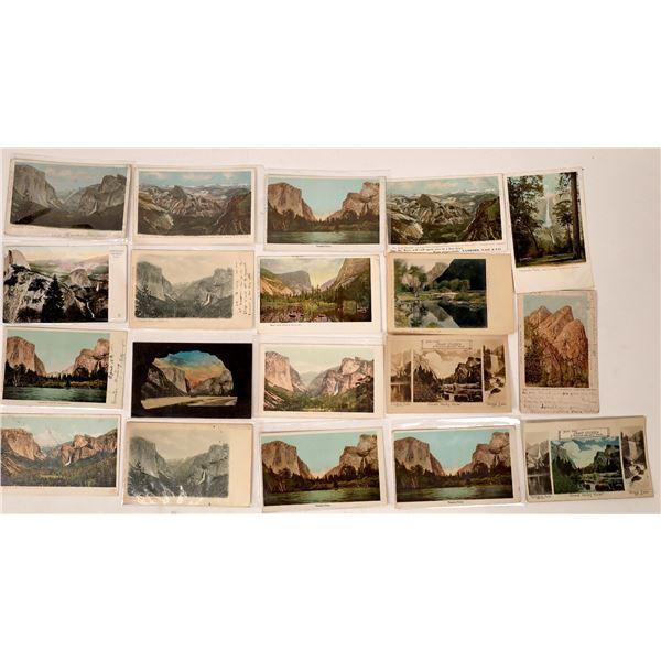 Yosemite Grand View Pioneer Postcards  [137876]