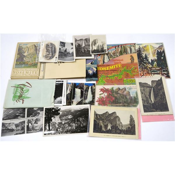 Yosemite/Animals Ephemera (approx 50 pieces) Post Card Collection  [137973]