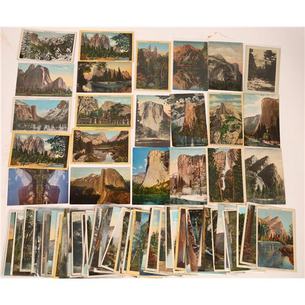 Yosemite Area Postcard Collection (200)  [137929]