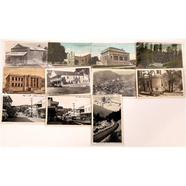 California Mother Lode Postcards (11)  [136039]