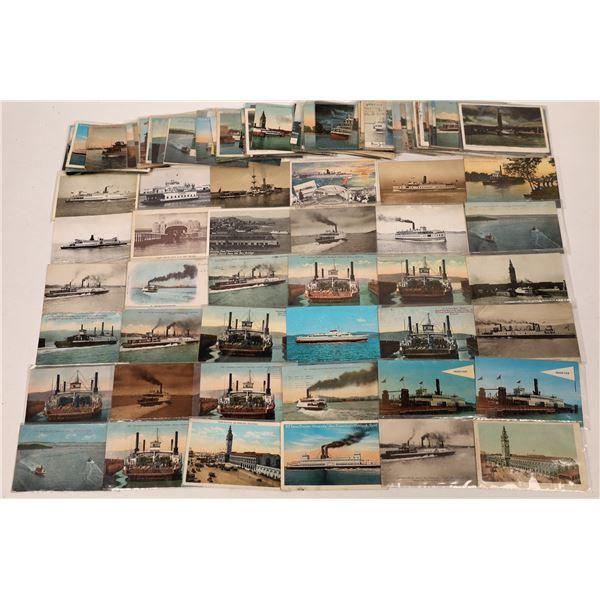 California Steamship & Ferries Postcard Collection  [133716]