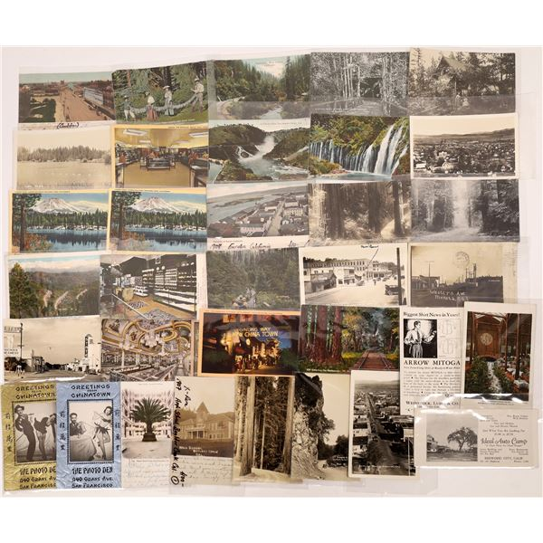 Central and Northern California Postcards (32)  [136037]