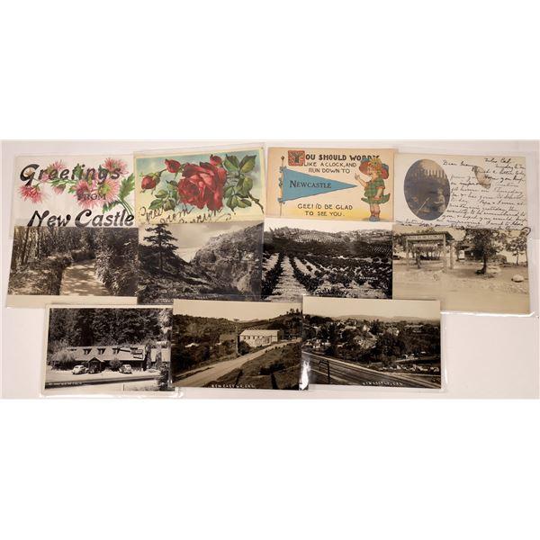 Newcastle & Penryn, California Real Photo Postcards (10)  [136047]