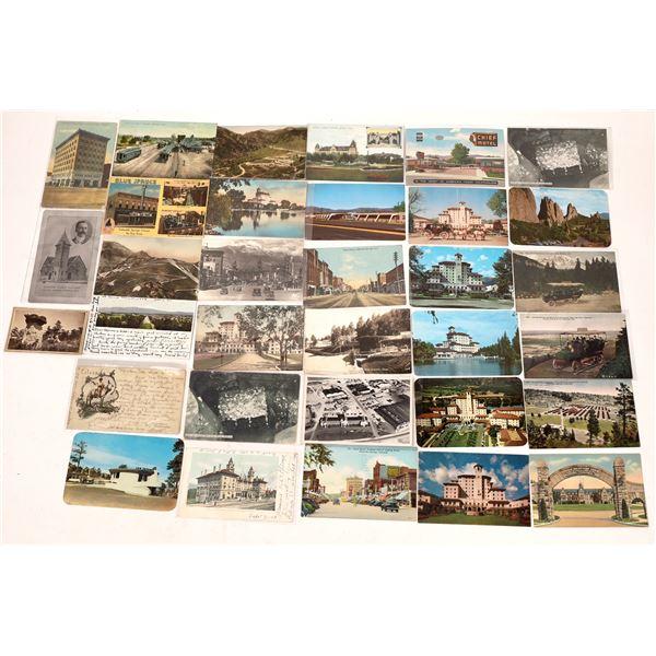 Colorado Springs Area Postcard Group (30)  [138115]