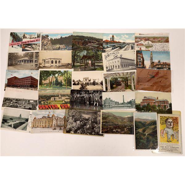 Colorado & Denver Postcard Group  [138990]