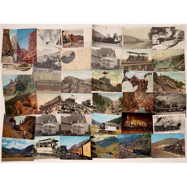 Vintage Colorado Railroad Postcards  [138991]