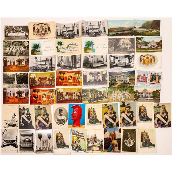 Hawaii Postcard Collection: The Royal Family  [133682]