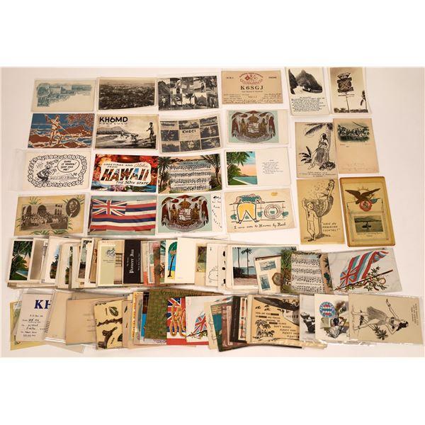 Hawaii Postcard Collection: Unusual/Holiday/Comical  [136164]