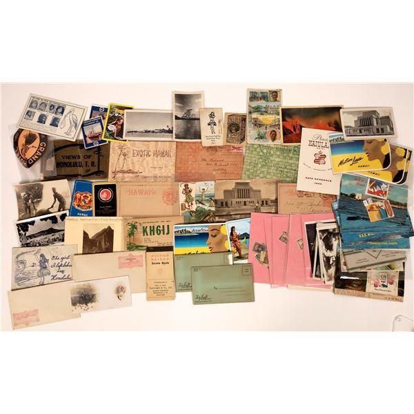 Hawaii Ephemera Sorted Out of the Postcard Hoard  [136165]