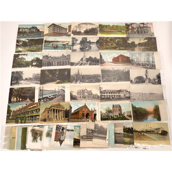 New Orleans, Louisiana, and Mississippi Postcards (45)  [136042]