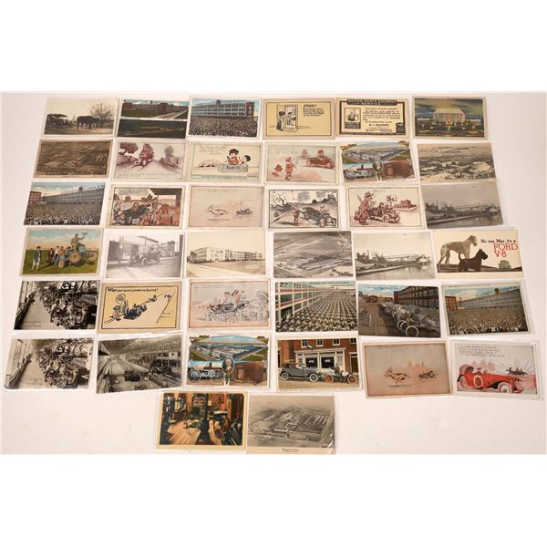 Ford Motor Car Historical Vintage Postcard Collection  (Approx 40)  [138096]