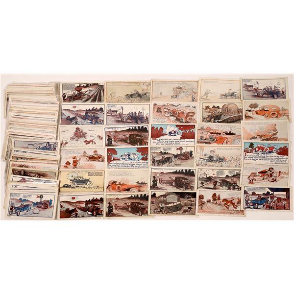 Ford Motor Company Cartoon Postcards  [136072]