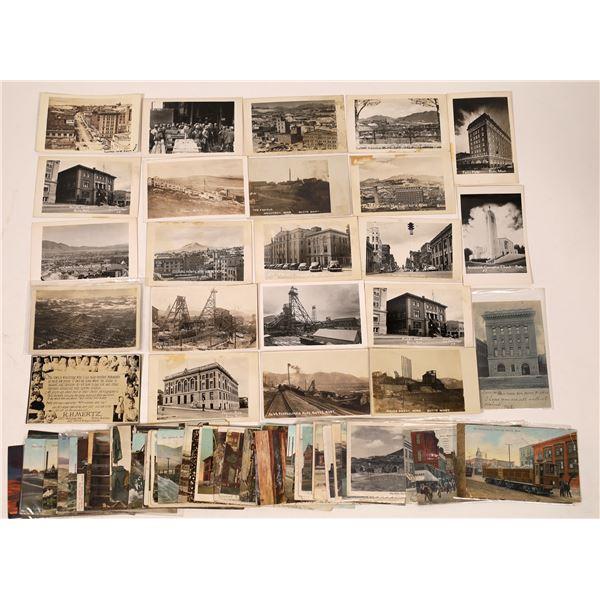 Butte Montana Vintage Postcard Collection  [137797]
