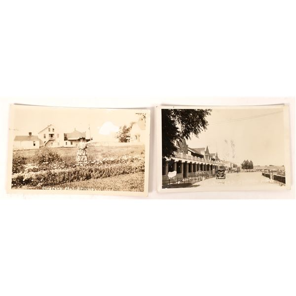 Real Photo Postcards of Hunters Hot Springs  [137798]