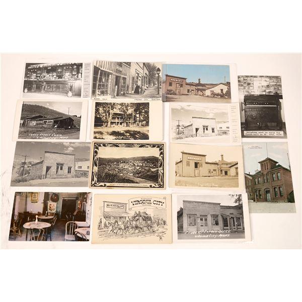 Virginia City Vintage Postcard Collection  [137799]